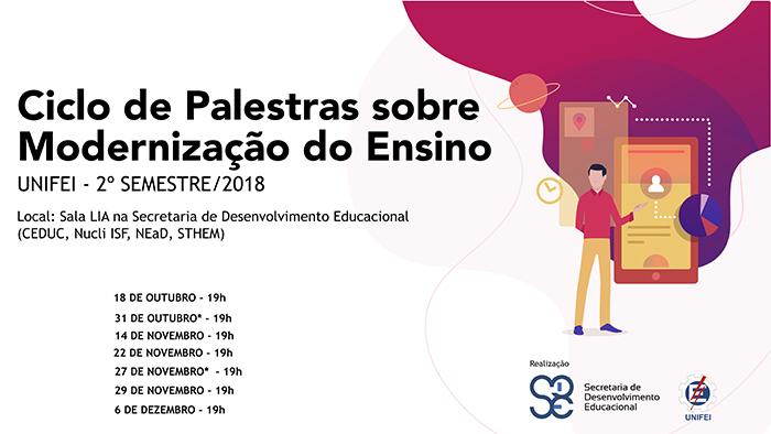 Ciclo de Palestras sobre Modernização do Ensino