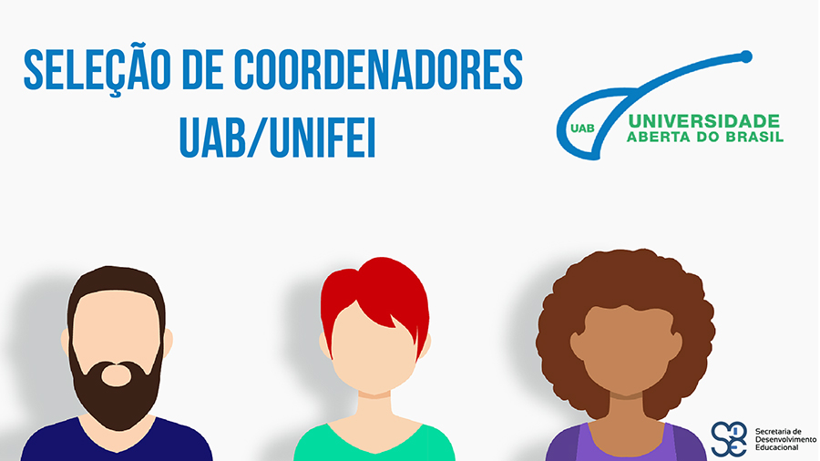 Seleção de coordenadores UAB/Unifei